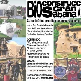 Curso de Construcción en tierra, en Venezuela