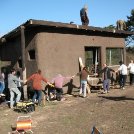Una casa de Palets