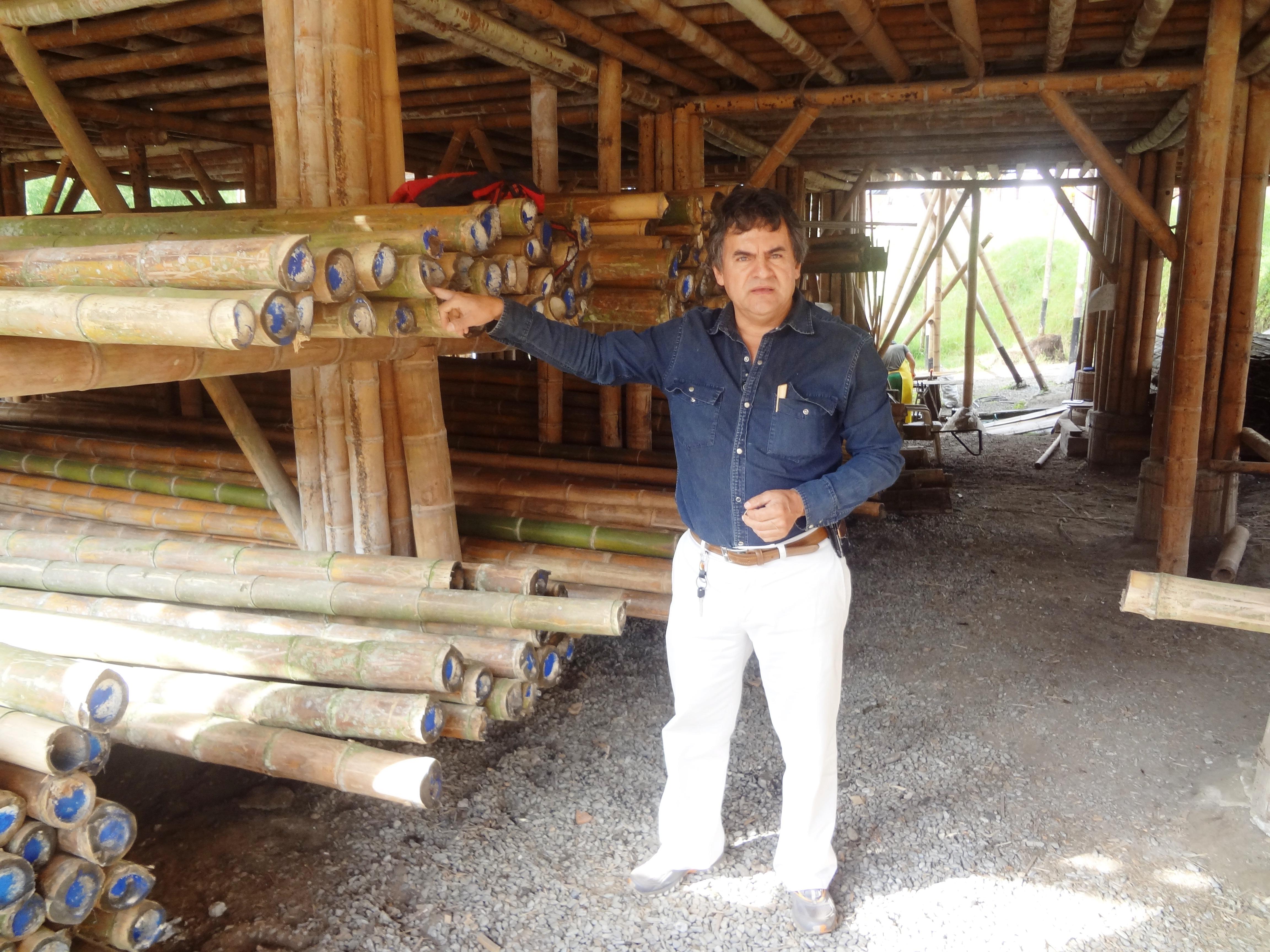 Juan Castellanos.  La guadua en tus manos es Magia,  técnica, arte y cobijo en tu ecoaldea Pachamama en Colombia.