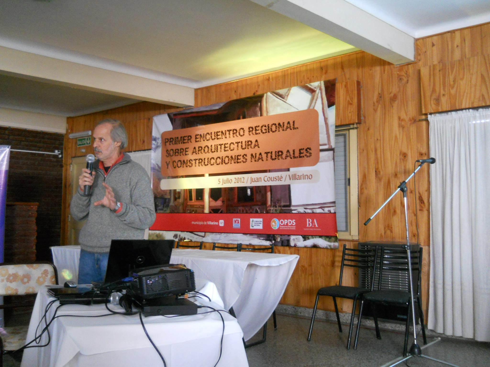 Rodolfo Rotondaro Incansable predicador de las buenas prácticas de Bioconstruccion.
