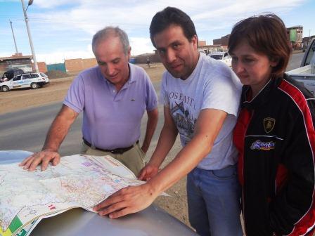 Arqs.Javier Crespo y Larissa Kosoblik  En Bolivia y en Rusia la arquitectura se enriquece con sus trabajos.